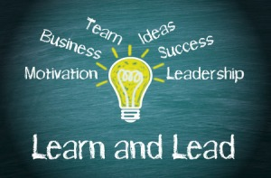 50027334 - learn and lead business concept