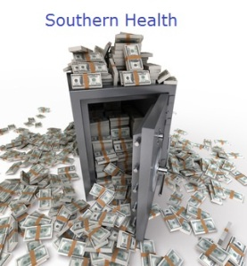 26468036 - 3d rendering of a safe full of hundred dollar notes