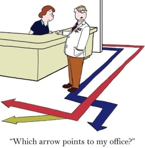 68957027 - which arrow points to my office