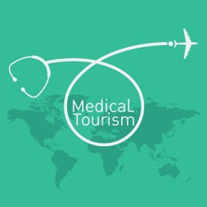 41498855 - medical tourism vector background