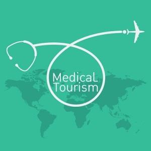 41498855 - medical tourism vector background