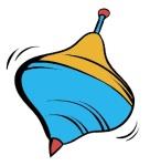 Whirligig icon cartoon